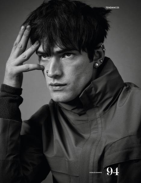 Vogue Hommes by Shaun Beyen