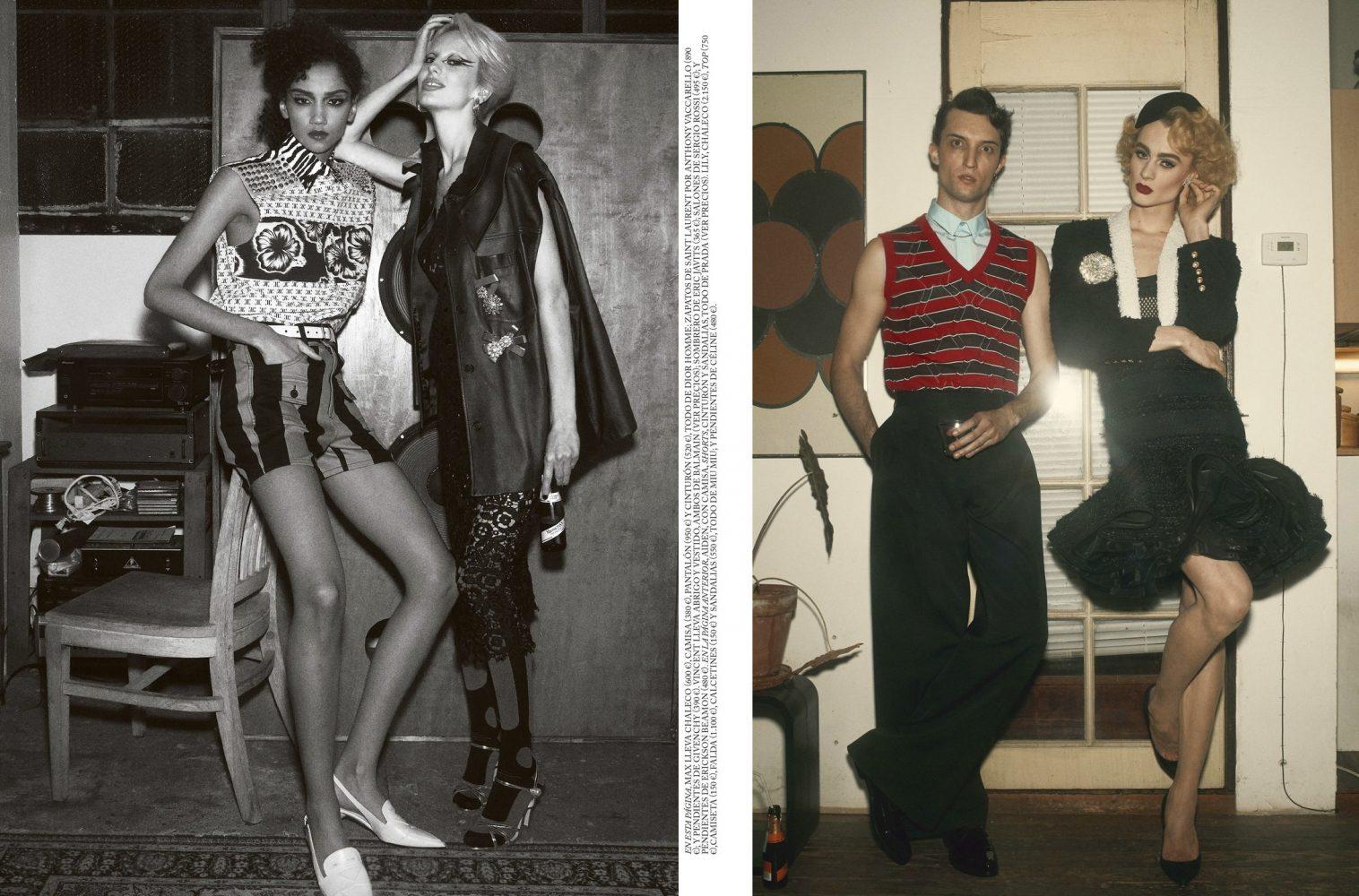 Vogue Spain by Shaun Beyen