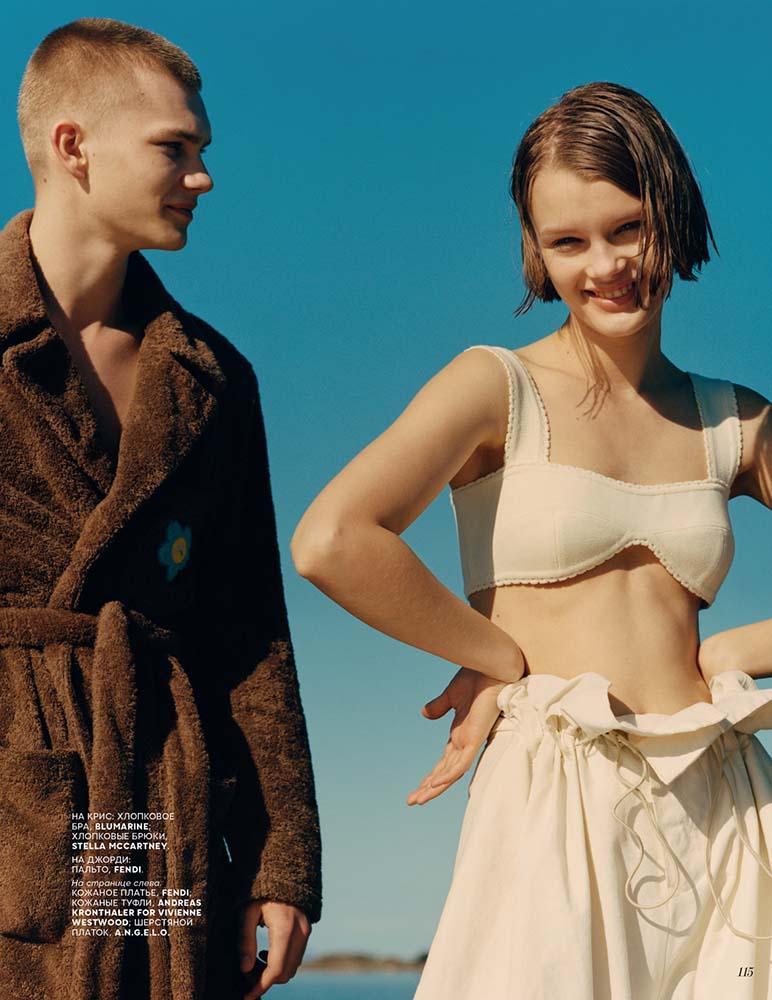 Vogue Russia by Shaun Beyen