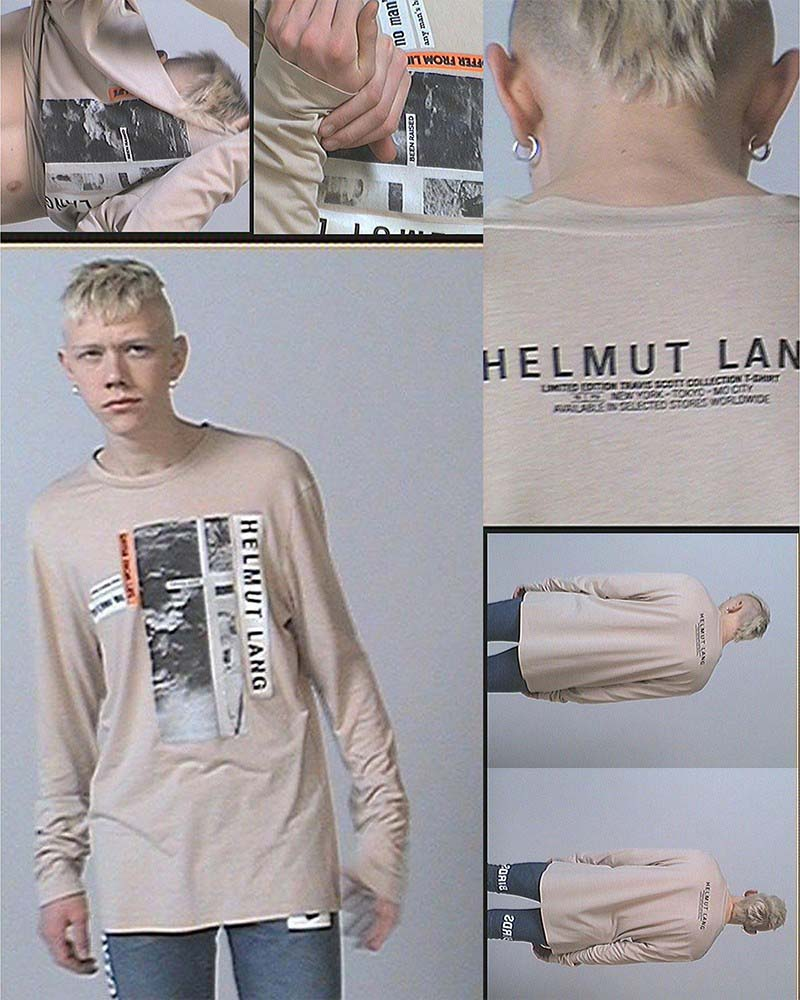 Travis Scott & Helmut Lang by Uber & Kosher