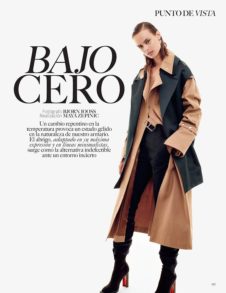 Vogue Mexico by Maya Zepinic